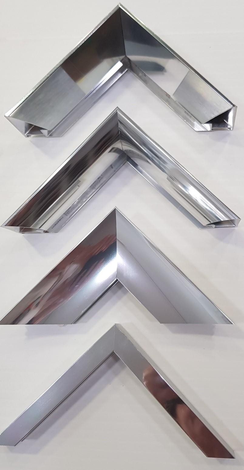Profils de moulures en aluminium